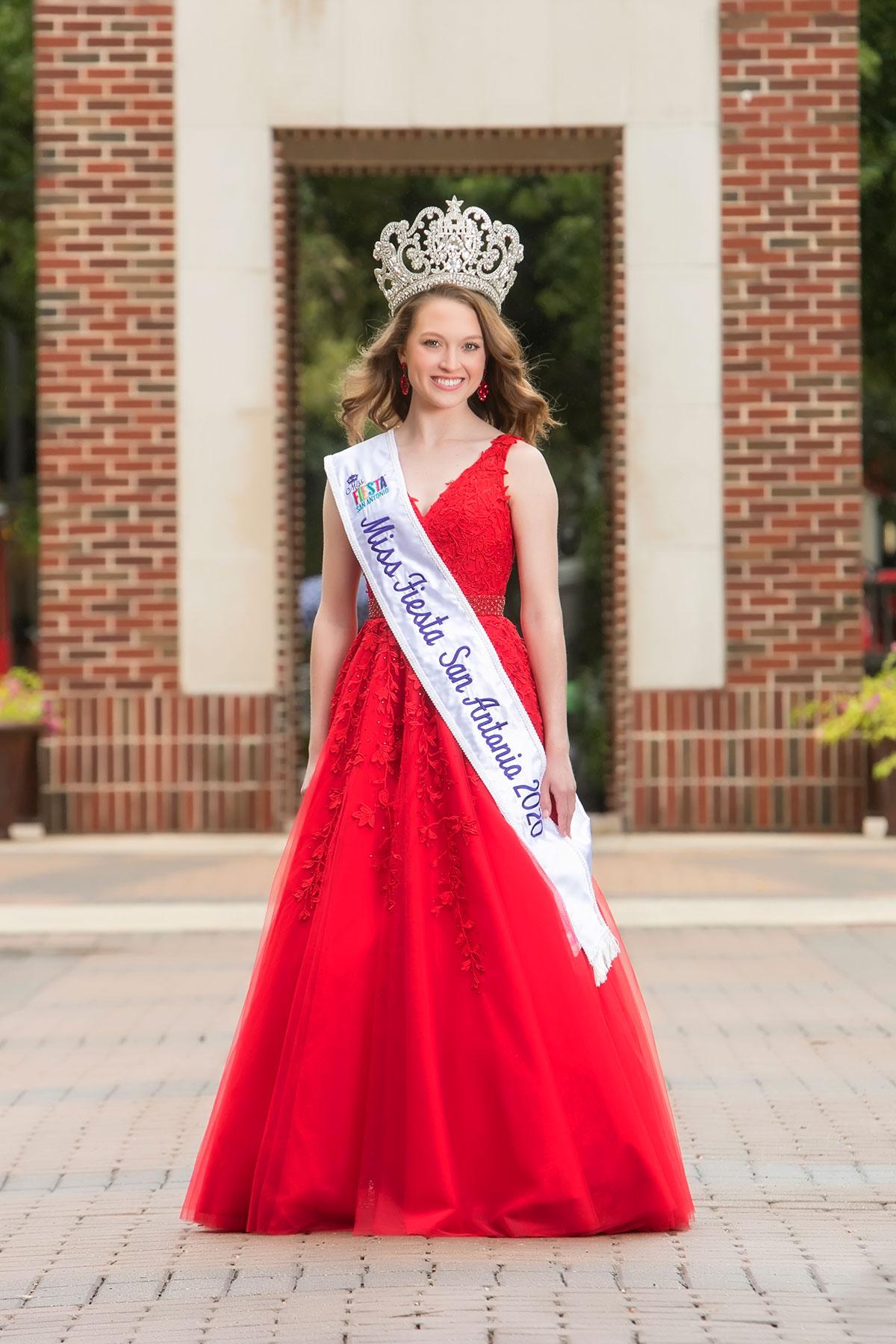 Miss Fiesta® San Antonio 2020-2021 Continues Community Service Project for Fiesta 2021