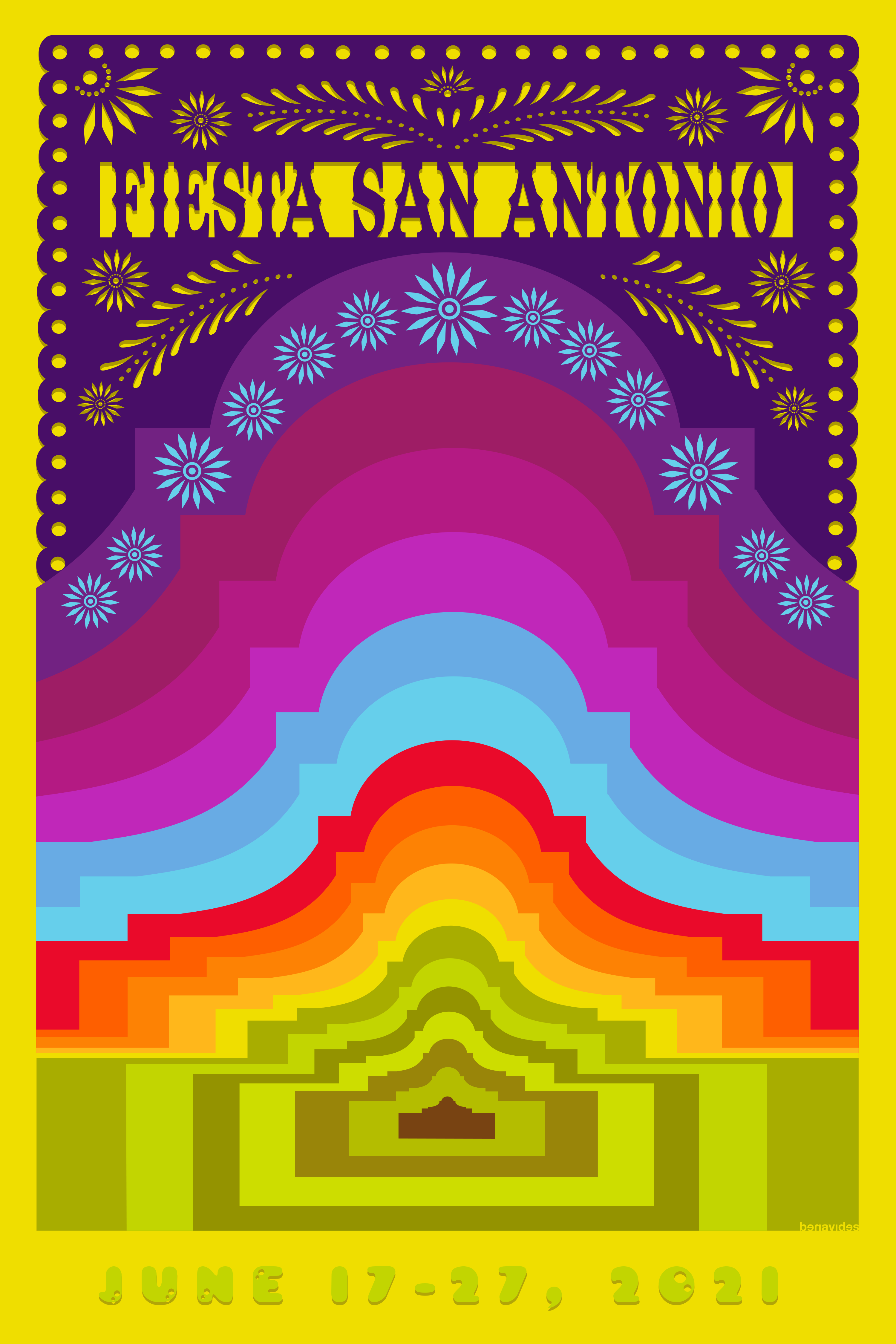 The Official Fiesta® 2021 Poster Has Been Unveiled